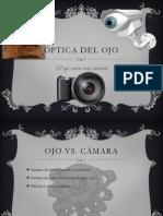 Optica del ojo y su fisiología