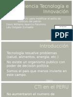 Ciencia Tecnología e Innovación