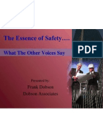 The Essence of Safety ..[1]
