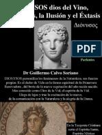 Dionysos dios del Vino, los Placeres, la Ilusión y el Éxtasis