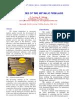 Challenges Metallic Fuselage