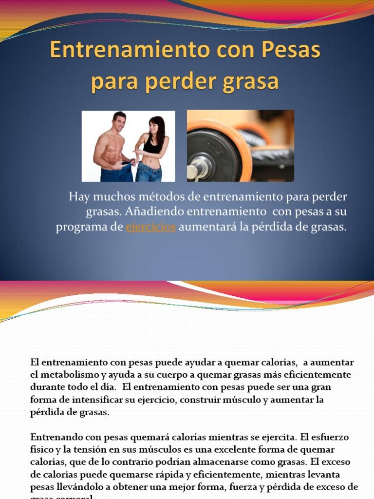 entrenamiento para perder grasa abdominal