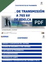 EDELCA Proyectos+de+EHV+de+Venezuela O+Sanz