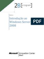 MODULO 1 - Introdução ao Windows Server 2008 R2