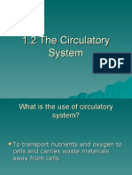1.2 the Circulatory System- Introduction