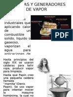 CALDERAS Y GENERADORES DE VAPOR PRESENTACIÓN BALTHER