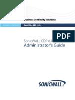 232-000530-00 Rev a SonicWALL CDP 6.1 Admin Guide