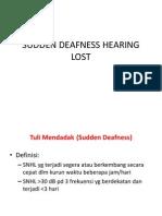 Sudden Deafness Hearing Lost