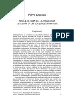 Clastres-ARQUEOLOGÍA DE LA VIOLENCIA