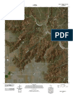 Topographic Map of Pleasant Creek