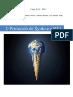 O Protocolo de Kyoto e o MDL v2