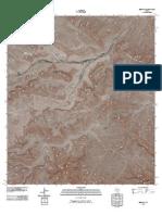 Topographic Map of Beef Gap