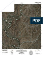 Topographic Map of Sixshooter Canyon