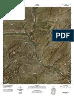 Topographic Map of Lightning Hills