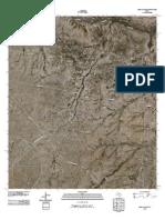 Topographic Map of Ligon Ranch