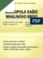 NEKROPOLA KAŠIĆ- MAKLINOVO BRDO