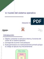 El Nucleo Del Sistema Operativo