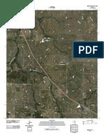 Topographic Map of Bellevue