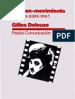 Deleuze - Imagen-Movimiento (completo)