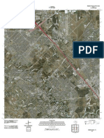 Topographic Map of Friendswood