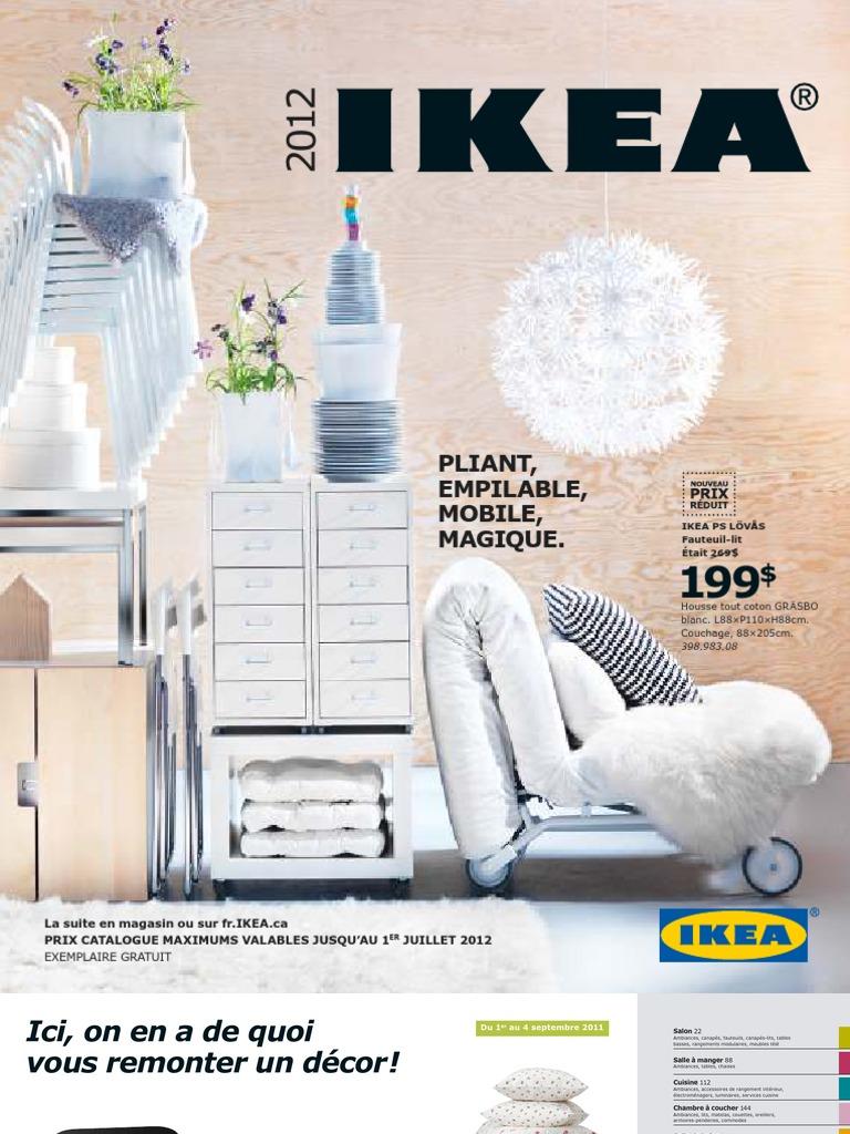 Ikea Catalogue 2012 Fr Matelas Lit