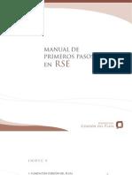 Manual de primeros pasos en RSE