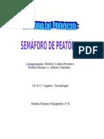 SEMÁFORO DE PEATONES (Memoria del proyecto, 4º ESO)