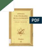 Deleuze - Spinoza y el problema de la expresión (completo)