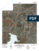 Topographic Map of Benbrook