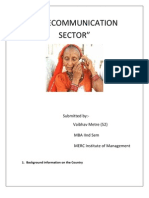 Tlecom Sector Analysis