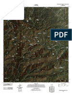 Topographic Map of Little Aguja Mountain