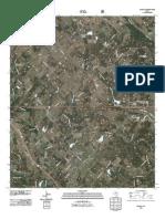 Topographic Map of Smyrna