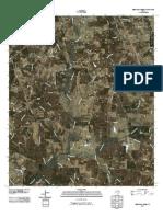 Topographic Map of Berryhill Creek