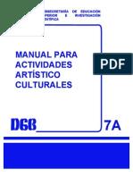 Manual Para Las Actividades Artistico Culturales