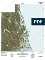 Topographic Map of Port Mansfield