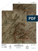 Topographic Map of Housetop Mountains