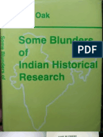 SomeBlundersOfIndianHistoricalResearcCh Text