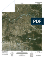 Topographic Map of Post Oak Mountain