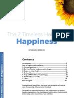 7 Habits to Happyness