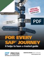 Winter Spring 2012 SAP press catalog