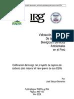Valoracion Ecologica de La Diversidad Ecologica PERU