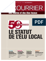 Statut de l'élu local, Courrier des maires, 02/2011