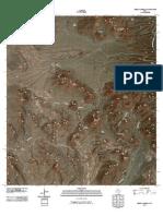 Topographic Map of Cerro Castellan