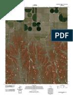 Topographic Map of Sourdough Creek SW