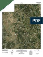Topographic Map of Blanton