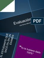 Evaluación-un examen diferente