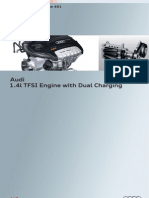SSP 491 Audi 1.4l TFSI Engine With Dual Charging