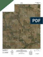 Topographic Map of Dudleys Creek