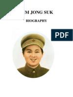 Kim Jong Suk Biography [english]