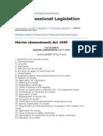 Marine Act 1999